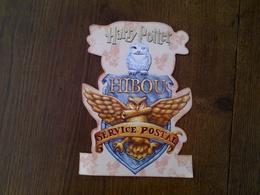 Carte Harry Potter Hibou Service Postal - Merchandising