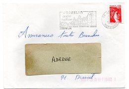 MORBIHAN  - Dépt N° 56 = JOSSELIN 1980 = Flamme Type II = SECAP Illustrée D'un CHATEAU 'BRETAGNE INTERIEURE' - Postmark Collection (Covers)
