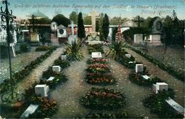 VOUZIERS Cimetière (Tombes De Militaires Allemands) Feldzug 1914 1915 - Vouziers
