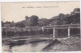 Asie - Tonkin - Lao-Kay - Le Pont Sur Le Nam-Thi - Vietnam
