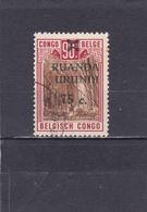 Ruanda-UrundI  1941/42  N° 119   Timbre Du Congo Belge Surchargé - Ruanda-Urundi