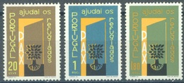 PORTUGAL  - 1960 - MNH/** LUXE.- REFUGEE - Mi 880-882 - Yv 861-862 - Lot 16725 - 1910-... Republik