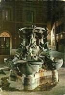 Roma (Lazio) Piazza Mattei, Fontana Delle Tartarughe, Notturno, Mattei Square Turtle Fountain By Night - Places