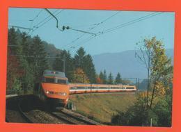 PL/5 TGV T G V TRAIN A GRANDE VITESSE RAPIDE DU MONDE 7657 - Treinen