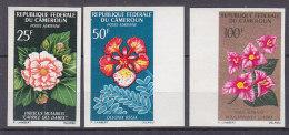 A0143 - CAMEROUN AERIENNE Yv N°81/83 ND ** FLEURS - Cameroon (1960-...)
