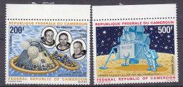 A0146 - CAMEROUN AERIENNE Yv N°146/47 ** ESPACE - Cameroon (1960-...)