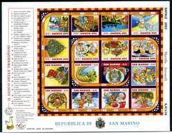 2003 SAN MARINO BF74 MNH ** - Blocchi & Foglietti