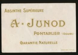 Buvard - ABSINTHE SUPERIEUR - A.JUNOD - A