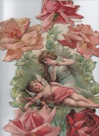 Grand Calendrier à Fenêtres/Publicitaire/Au Bon Marché/Jacques CAMOUS/Nouveautés/ Rue D'Antibes/CANNES/ 1904     CAL391 - Calendars