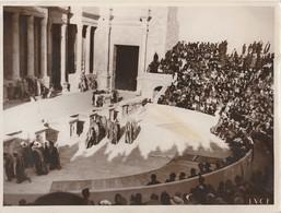 Foto Originale - SABRATA IL DUCE Assiste A: EDIPO RE - Istituto Luce Marzo 1937 - Persone Identificate