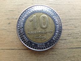 Uruguay  10  Pesos  Uruguayos  2000  Km 121 - Uruguay