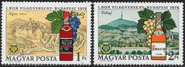 Ungheria/Hongrie/Hungary: Vino Ungherese, Hungarian Wine, Vin Hongrois - Bibite