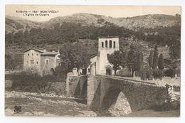 07 Montpézat, L'église De Clastre (2802) L300 - Frankreich