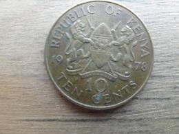Kenya  10  Cents  1978  Km 11 - Kenya