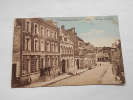 D. 59 Condé Sur L'escaut ( Nord ) Rue De La Poste - Conde Sur Escaut