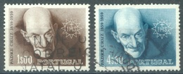 PORTUGAL  - 1960 - USED/OBLIT. .- CRUZ - Mi 890-891- Yv 868-869 - Lot 16726 - 1910-... Republik