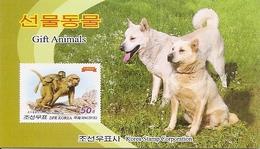 KOREA NORTH (DPR), 2015, Booklet 228 And 228a, Aniamls: Camel, Dog, Horse, Moneky, Lynx - Korea, North