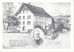 Glattfelden - Doktorhaus Scheuchzer  (Keller Jugendeindrücke)          Ca. 1980 - ZH Zurich