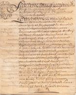 ACTE NOTARIE SUR PEAU DE 1789 DE LORRAINE ET BAR ACTE DE VENTE - Manuscripts