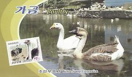 KOREA NORTH (DPR), 2015, Booklet 233 And 233a, Poultry - Korea (Nord-)