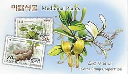 KOREA NORTH (DPR), 2016, Booklet 236 And 236a, Medicinal Plants - Korea, North