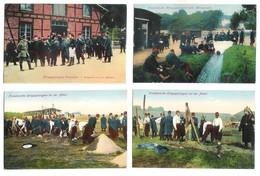 Guerre 1914-18 Gefangenenlager WAHN Mit Franzosen Kriegsgefangene 6 Cartes - Weltkrieg 1914-18