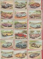Chocolat Jacques  - 1954 - Série  Auto - DIVERS LOT  DE 68 Vues - LOT 1 - Cars