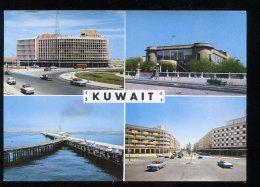 CPM Neuve KUWAIT Multi Vues Building, Muséum, Pipeline, Avenue Fahad Salem - Koweït