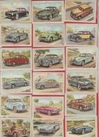 Chocolat Jacques  - 1954 - Série  Auto - Divers 96 VUES - LOT 2 - Voitures