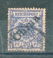 CHINE ; Bureaux Allemands ; 1897-1900 ; Y&T N° 4B ; Oblitéré - China