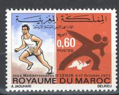 MAROC MOROCCO MARRUECOS JEUX MEDITERRANEENS IZMIR TURQUIE ATHLETISME SPORT 1971 - Morocco (1956-...)