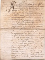 ACTE NOTARIE SUR PEAU DE 1779 DE LORRAINE ET BAR ACTE DE VENTE - Manuscripts