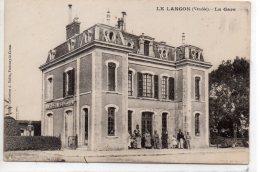 Le Langon : La Gare - France