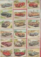 Chocolat Jacques  - 1954 - Série  Auto - DIVERS LOT De 80 VUES - Réf  Lot 4 - Voitures