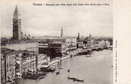 CPA VENEZIA - PANORAMA PRESO DALLA CUPOLA DELLA CHIESA DELLA SALUTE VERSO IL MOLO - Venezia (Venice)
