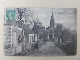 CPA (53) Mayenne - Saint Michel De Feins - L'église - Autres Communes