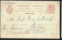 Espagne  Entier Postal  Du 16 Juillet 1919   Elcipres Vers Galdar - Stamped Stationery