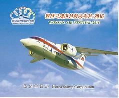 KOREA NORTH (DPR), 2016, Booklet 239 And 239a, Wonsan Air Festival 2016 - Korea, North