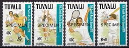 Tuvalu MNH Set, SPECIMEN - Stamps