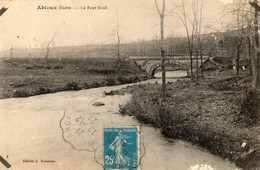 36. CPA. ABLOUX. Le Pont Neuf. 1921. - Francia