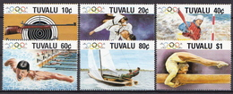 Tuvalu MNH Set - Summer 1988: Seoul