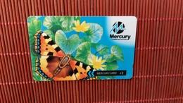 Phonecard Buterfly Mercury Number 39MERA  Used - United Kingdom