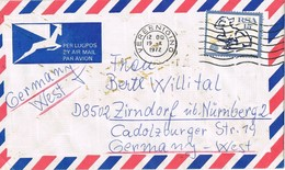 28693. Carta Aerea VEREENIGING ( RSA) South Africa 1972 - South Africa (1961-...)