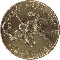 35 ILE ET VILAINE SAINT MALO AQUARIUM N°5 LA PIEUVRE MÉDAILLE MONNAIE DE PARIS 2012 JETON MEDALS TOKEN COINS - Monnaie De Paris