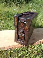 Box For MG13  Neutralisé Obus Projektil Spoletta Fusee GRENADE Mine - Decorative Weapons
