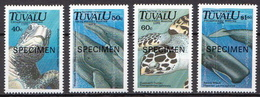 Tuvalu MNH Marine Life Set, SPECIMEN - Marine Life