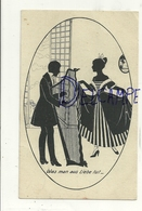 Silhouettes. Couple. Harpe. Was Man Aus Liebe Tut - Silhouettes