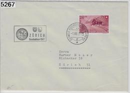 1947 Zürich Bundesfeier B36/482 1.VIII.47 - Pro Patria