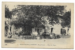 87-SAINT-SULPICE-LAURIERE-Place De L'Eglise... Animé  Restaurant - France