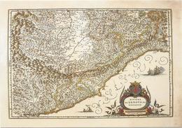 X2311 Cartolina Postale - Vaticano - Carta Geografica Map Carte Geographique - Riviera Di Genova Da Ponente - Carte Geografiche